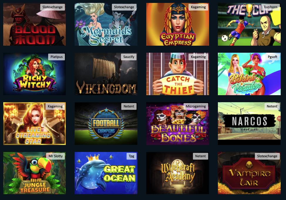 slotsnbets games