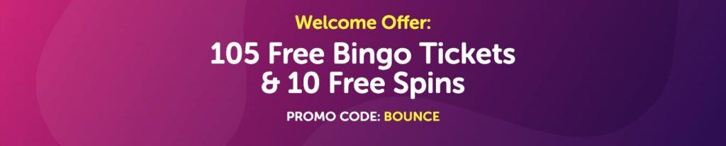 bounce bingo promo