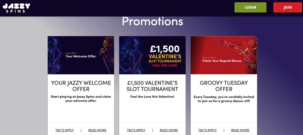 jazzy spins promotions
