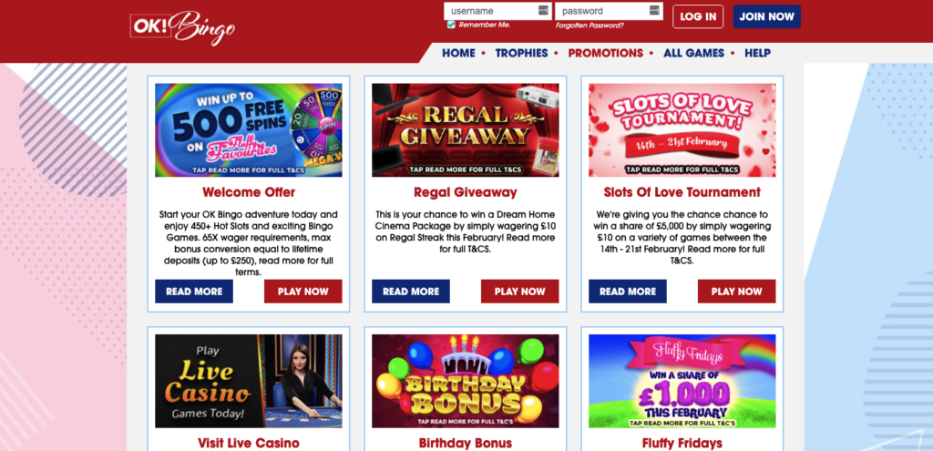 ok bingo promotions
