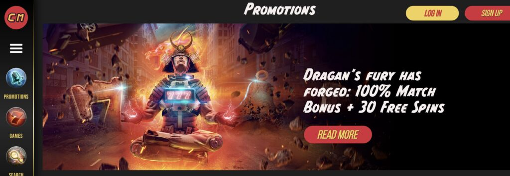 casino masters promotions